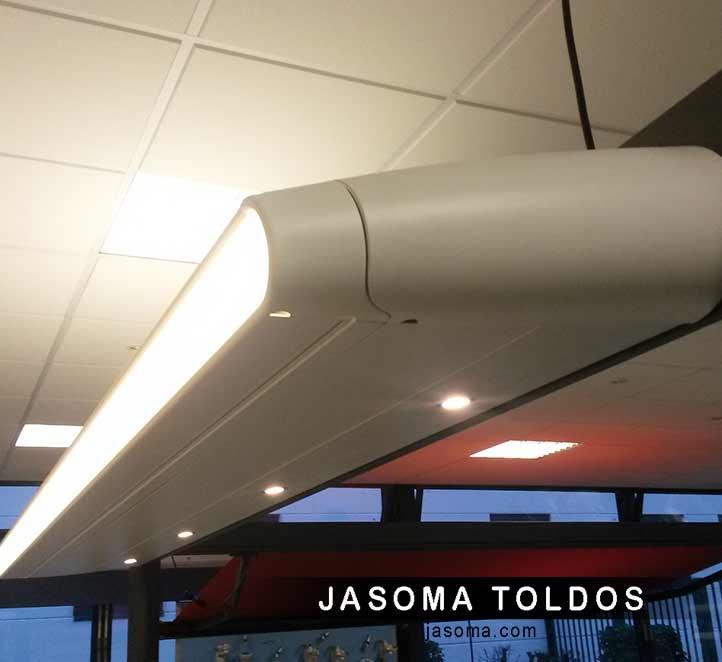 Accesorios para nuestro toldo cofre mx1 jasoma toldos for Accesorios para toldos