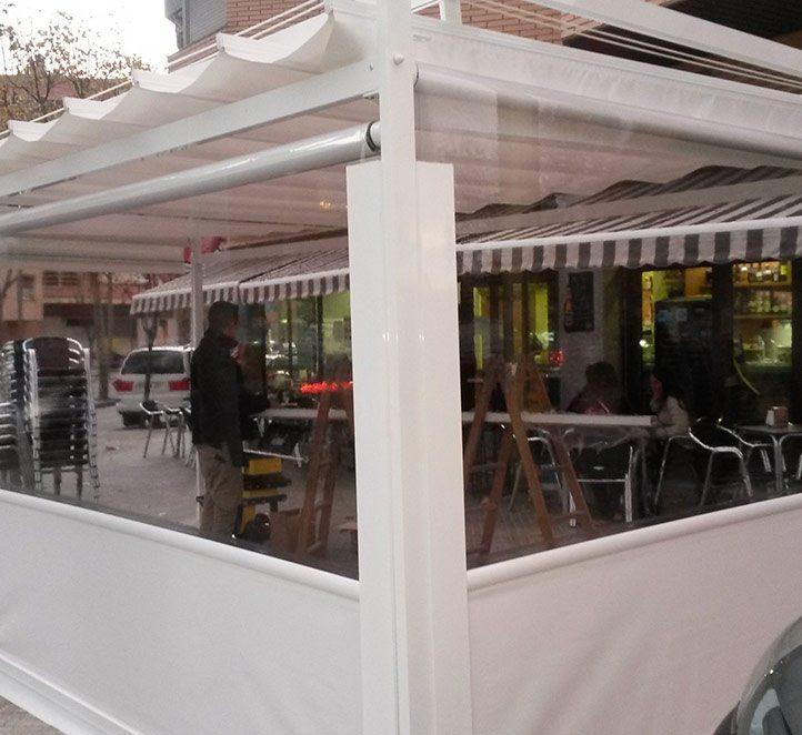 cerramientos con verticales instalación en Barcelona