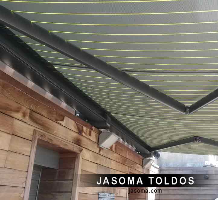 toldo cofre modelo 6000 instalación toldo de calidad