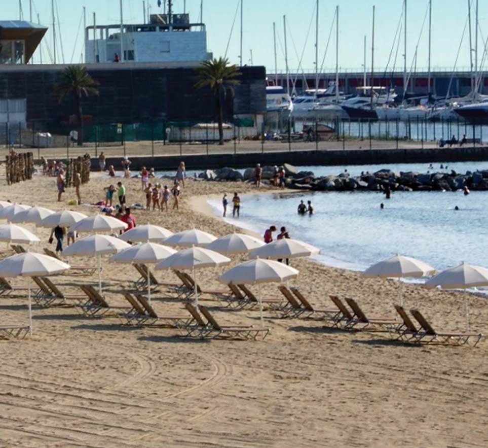 parasoles todos nuestros toldos en Barcelona