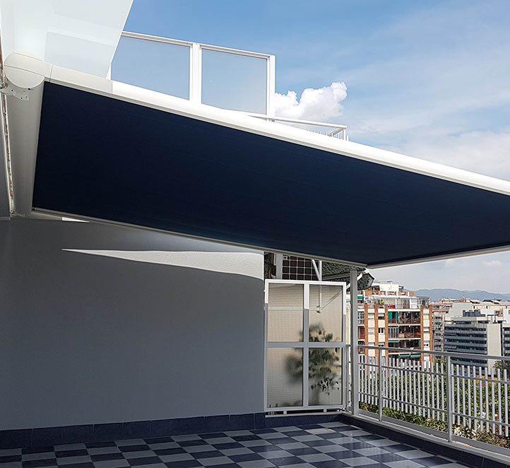 Toldos Barcelona nuestra pérgola 210 de calidad de markilux