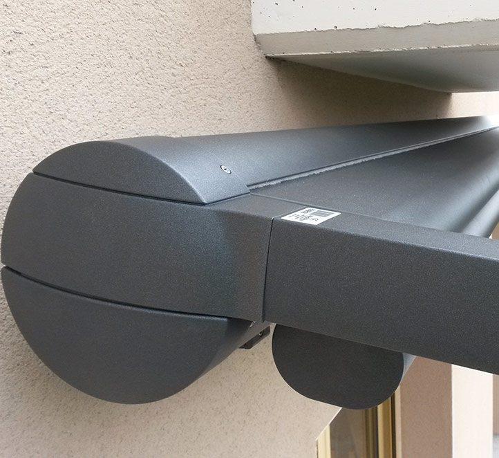 pérgola 210 de markilux accionamiento toldos de calidad en Barcelona