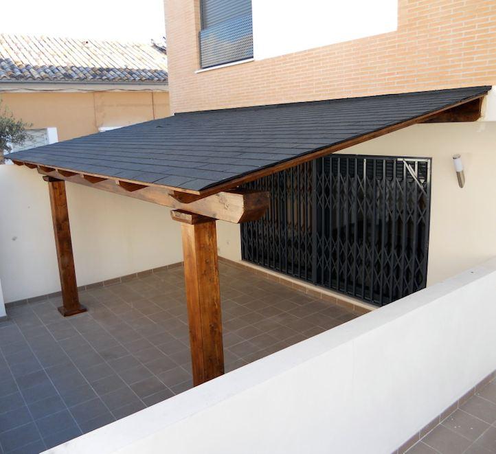 techo y pérgolas de madera