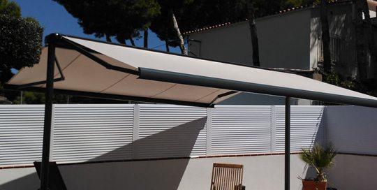 toldos a dos aguas venta de toldos en Barcelona