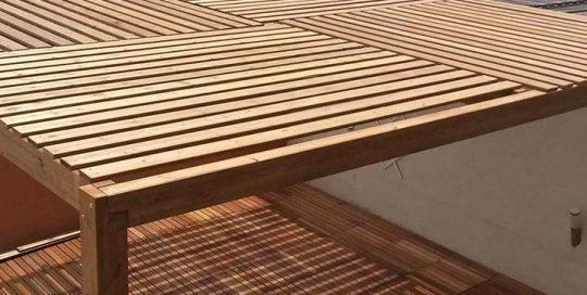 toldos barcelona nuestras pérgolas de madera de calidad