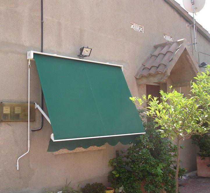 toldos punto recto instalación en Barcelona