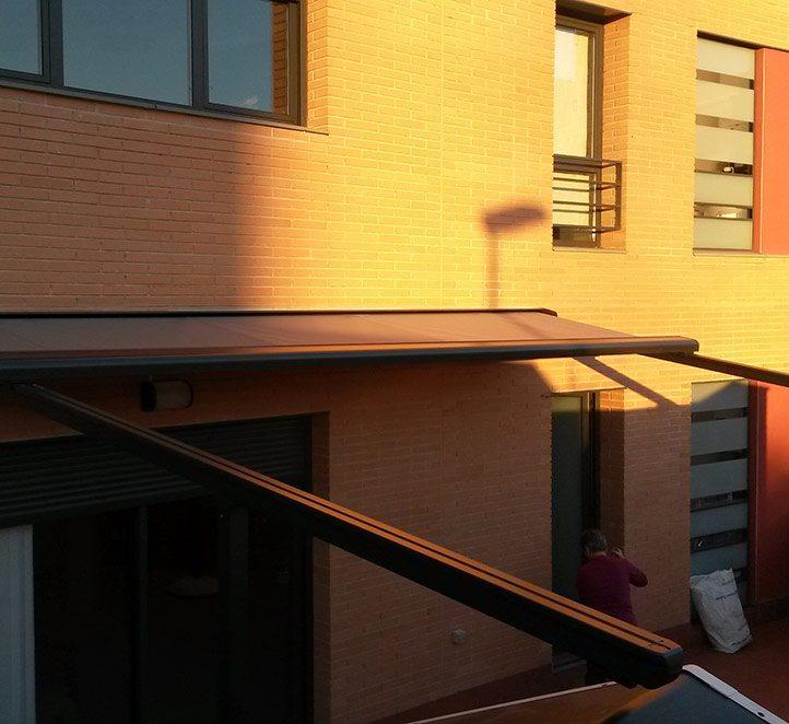 toldos pergolino p3500 toldos de calidad para fachada