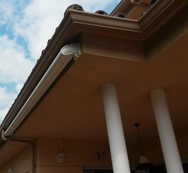 toldo cofre 990 markilux solución fachada