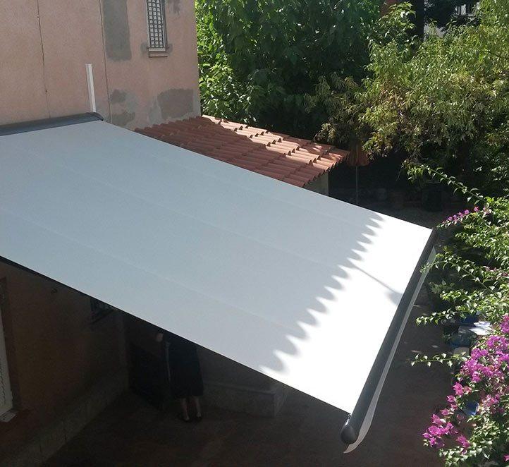 toldo markilux 1600 stretch ejemplo de instalación