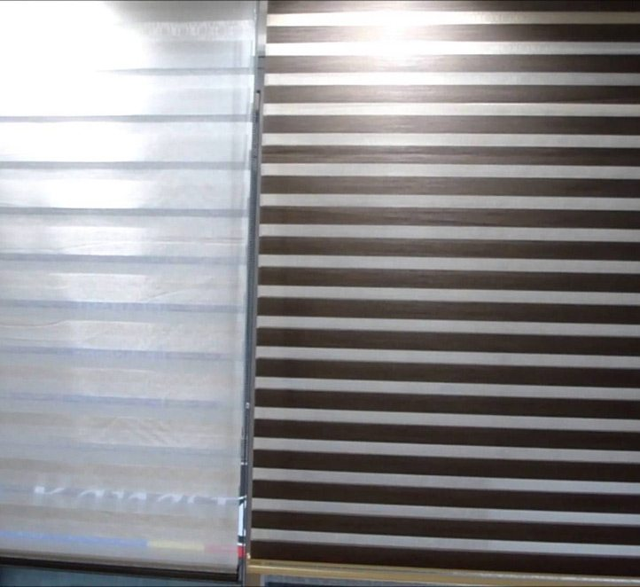 cortina noche y día toldos en Barcelona
