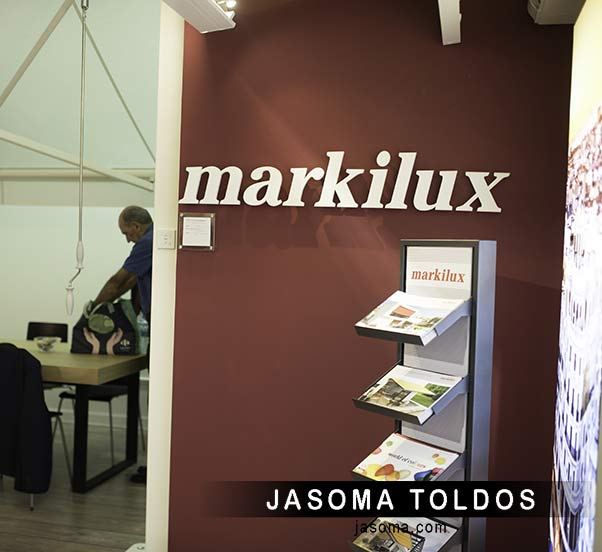 toldos en Barcelona visita a markilux