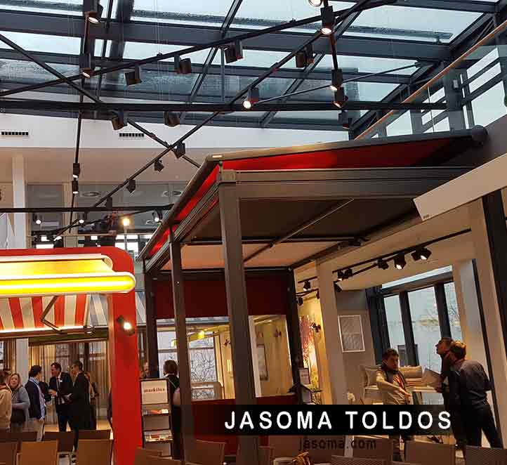 toldos jasoma visita showroom markilux 2018