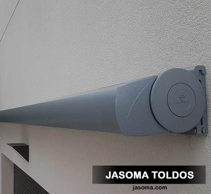 toldo cofre splenbox 400 adosado a pared
