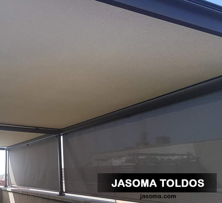 toldo veranda 779 y toldo vertical 776