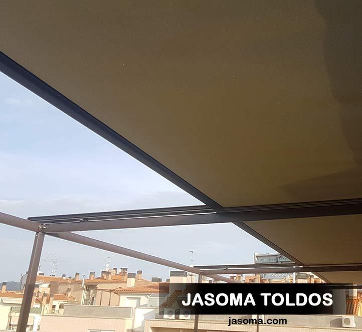 toldo veranda 779 y toldos verticales 776