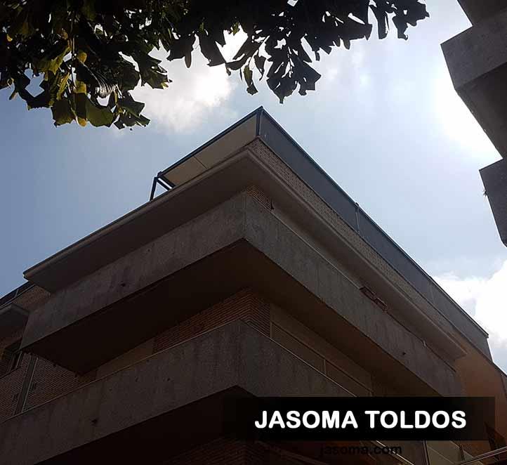 toldo veranda 779 motorizado y toldos verticales