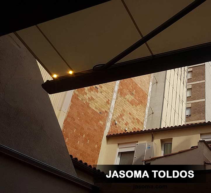 toldo mx1 con luces